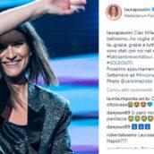 """LAURA PAUSINI LIVE A MILANO: """"SIATE VOI STESSI…"""""""