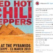 RED HOT CHILI PEPPERS LIVE ALLE PIRAMIDI DI GIZA