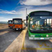Ariano Irpino,l'Azienda Mobilità Ufitana  arricchisce il proprio parco mezzi con l'acquisto di un autobus.