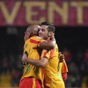 Benevento-Cosenza 4-2:poker giallorosso