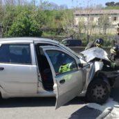 Incidente sul raccordo,tre auto coinvolte