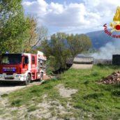 San Martino Valle Caudina, va a fuoco una fornace