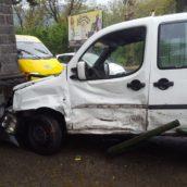 Baiano,incidente tra auto : due feriti al Moscati