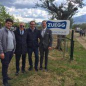 Gli agronomi irpini in visita alla Zuegg di Luogosano