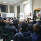 Enrico Franza incontra i cittadini della Stazione di Ariano Irpino