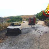 Auto in fiamme a Montecalvo Irpino e Mercogliano: nessun ferito.