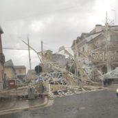 Nubifragio e tromba d'aria sull'Irpinia: crollano le luminarie a Grottaminarda