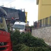 Dramma a Torrecuso : operaio muore travolto dal terreno