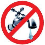 L'Alto Calore sospende la fornitura idrica, per lavori condotta località Creta.