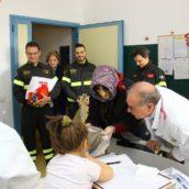 Avellino, Befana in Pediatria con i Vigili del Fuoco