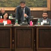 Ariano Irpino,conferenza stampa del Sindaco Enrico Franza
