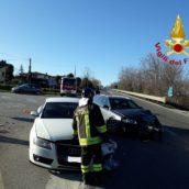 Pietradefusi, incidente stradale, coinvolte due autovetture