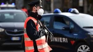 Coronavirus, oltre 250 controlli dei carabinieri