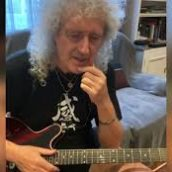 Coronavirus: Brian May dà lezioni di chitarra ai fan