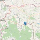 Terremoto a Nusco, scossa magnitudo 3.3