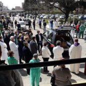 Funerale Sommese, 54 persone multate dai carabinieri