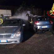 Avellino, incendio ad un'autovettura. Nessun ferito
