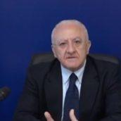 """De Luca:""""Ringrazio i cittadini di Ariano che hanno dato prova di senso civico e responsabilità"""""""