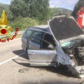 Incidente stradale a Monteverde, un ferito