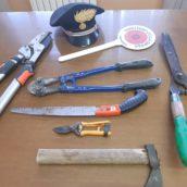 Buonalbergo, furti sventati dai Carabinieri della locale stazione