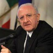 Covid-19, nuova ordinanza del Governatore De Luca