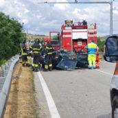 Tragico incidente alle porte di Benevento:un morto e tre feriti