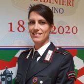 Nuovo Comandante della Stazione Carabinieri di Aiello del Sabato: è Vittoria Amalfitano