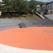 Volturara Irpina, Sarno inaugura il nuovo centro polisportivo e l'anfiteatro