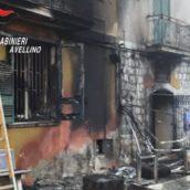 Incendio ad un bar di San Martino Valle Caudina. Indagini in corso