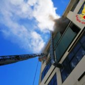 Fiamme in una conceria di Solofra: pompieri in azione