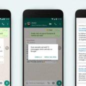 WhatsApp introduce una nuova funzione per combattere le fake news