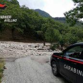 Viabilità, momentaneamente bloccata la SP 143 tra Bagnoli Irpino e Acerno