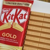 Arriva in Italia la limited edition di KitKat color oro
