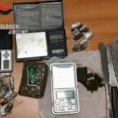 Solofra, spaccio di stupefacenti: 19enne arrestato dai Carabinieri