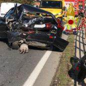 Incidente stradale sulla Variante ad Atripalda: due feriti