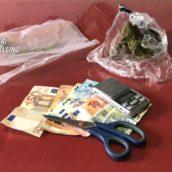 Serino, nascondeva in casa marijuana e hashish: 35enne arrestato per spaccio dai Carabinieri