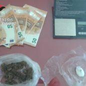 Sorpreso in possesso di sostanze stupefacenti: 30enne denunciato dai Carabinieri