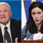 Il Ministro dell'Istruzione Azzolina attacca De Luca: «Decisione sbagliata e gravissima»