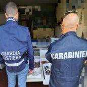 Prodotti ittici privi di tracciabilità: sequestrati 100 kg e sanzioni per 3mila euro