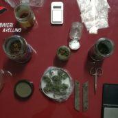 Serino, sorpreso in possesso di sostanze stupefacenti: 36enne arrestato dai Carabinieri