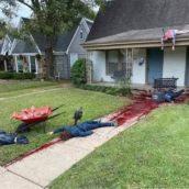 In questa casa hanno usato decorazioni di Halloween così esagerate che i vicini hanno chiamato la polizia