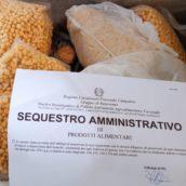 """Benevento, operazione            """"Christmas Food"""": sottoposti a sequestro circa 400 kg di prodotti alimentari natalizi"""