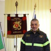 Mario Bellizzi al comando dei Vigili del Fuoco di Avellino