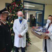 Ariano Irpino,i Carabinieri consegnano doni ai piccoli pazienti del Frangipane