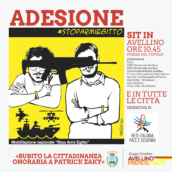 Avellino Prende Parte aderisce al sit in #stoparmiegitto