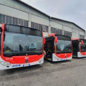 Air Mobilità, consegnati dalla Regione i primi cinque bus urbani con barriere anticontagio