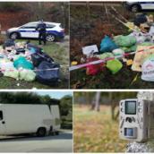 Lioni, abbandona rifiuti per strada: 63enne sanzionato e obbligato a ripulire l'area