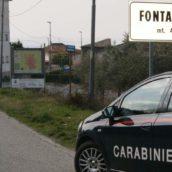 Fontanarosa, furto in abitazione finisce con un inseguimento: recuperata dai Carabinieri l'auto rubata