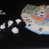 Avellino, sorpreso in possesso di cocaina: pusher arrestato dai Carabinieri