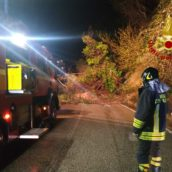 Disagi in Irpinia, una frana blocca la strada Ariano – Montecalvo